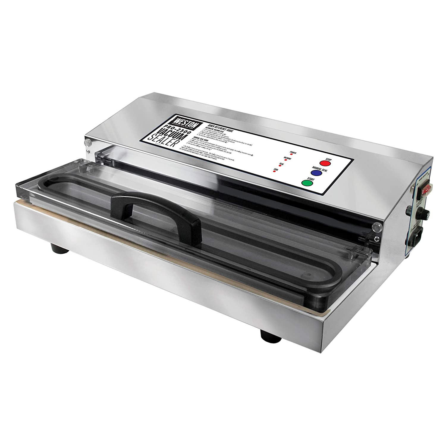 Weston pro-2300 vacuum sealer consumer report