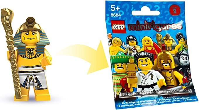 Lego COMPATIBILE FARAONE TUTANKHAMON MiniFigures Guerrieri