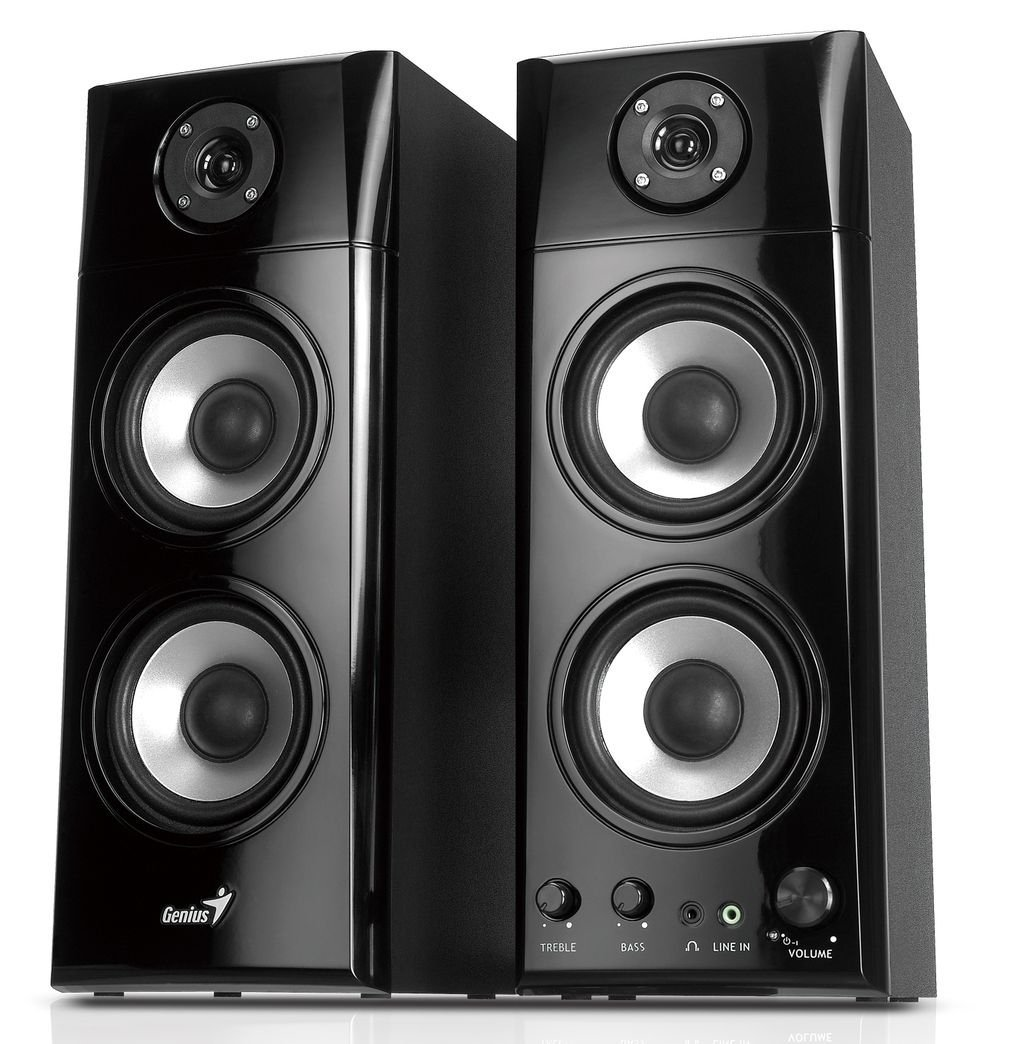 SP-HF1800A 50W Wood Speakers Genius