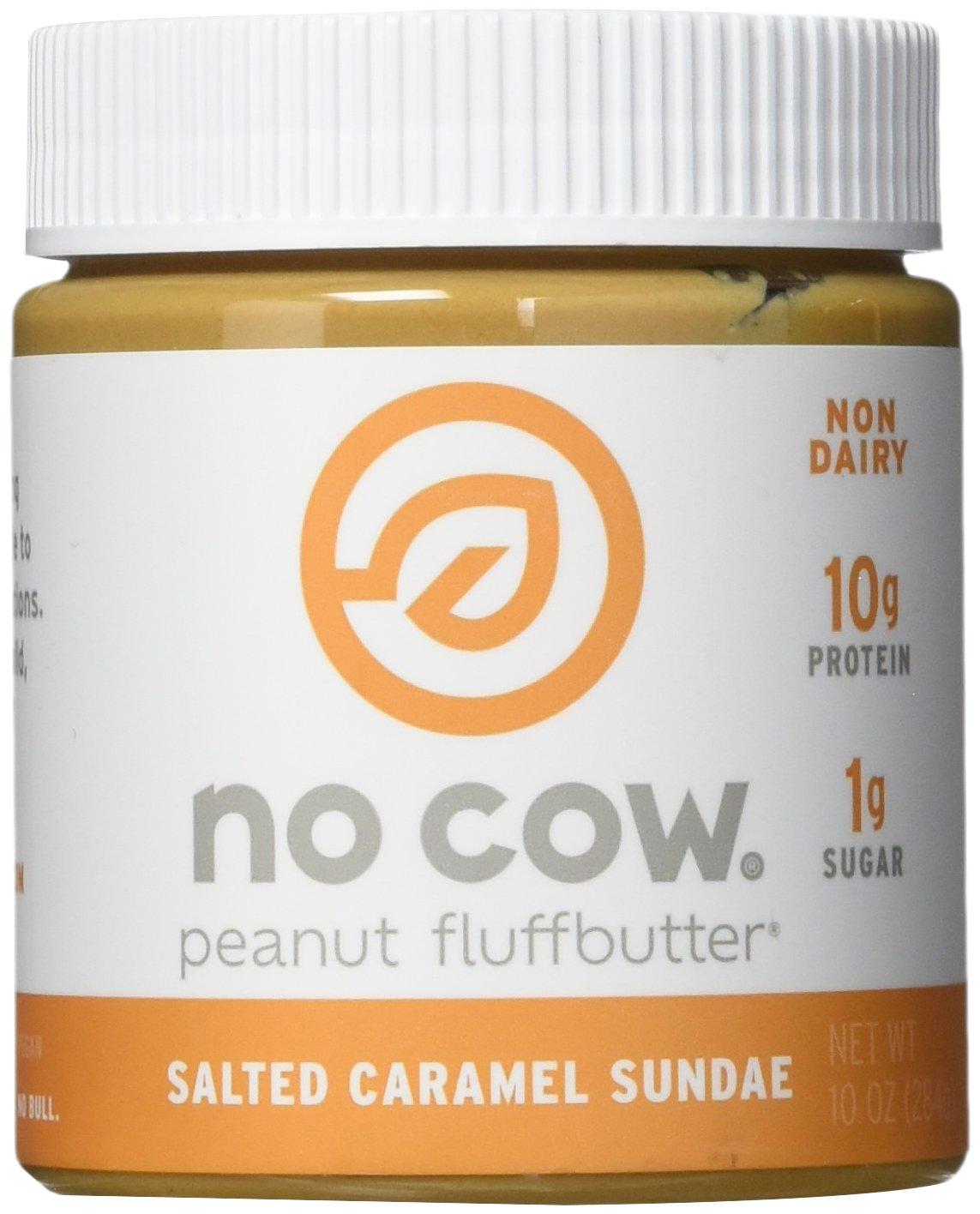 No Cow Peanut Fluffbutter, Salted Caramel, 2 Count