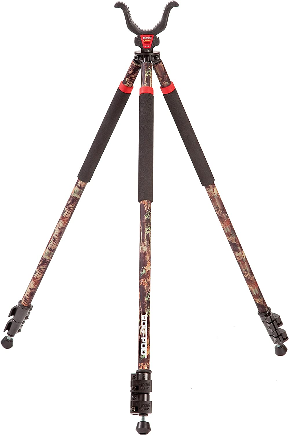 BOG-POD CLD-3 Shooting Camo Tall Tripod : Gun Monopods Bipods And Accessories : Sports & Outdoors