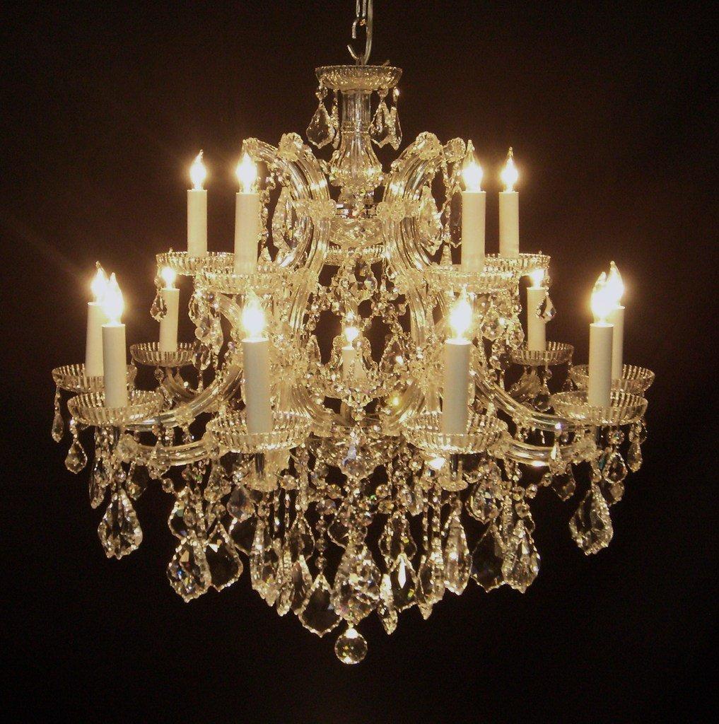 (Pack of 12) 15 Watt Clear Candelabra Base (E12) Flame Tip 120V Decorative Dimmable Chandelier Lights Bulbs - - Amazon.com