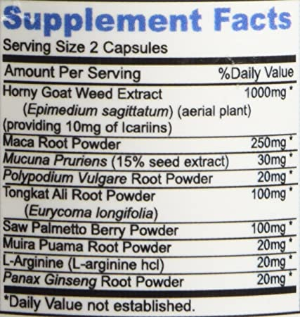 super goat weed uses