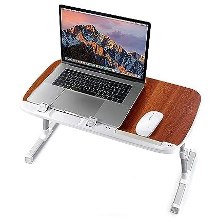 Scho/ß und Schreiben neigbarer Laptop Tischst/änder f/ür Couch.Sofa Klappbett Schreibtisch Kinder Bettablage Tisch h/öhenverstellbar Utaxo Laptop-Tisch auf Bett