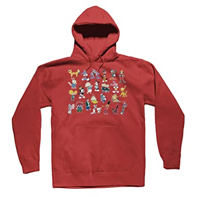 dc27840ed75 90s Cartoon Characters Hey Arnold Rugrats Tiny Toons Graphic Hoodies  Sweater at Amazon Men s Clothing store