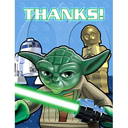LEGO Star Wars Thank You Notes (8ct)