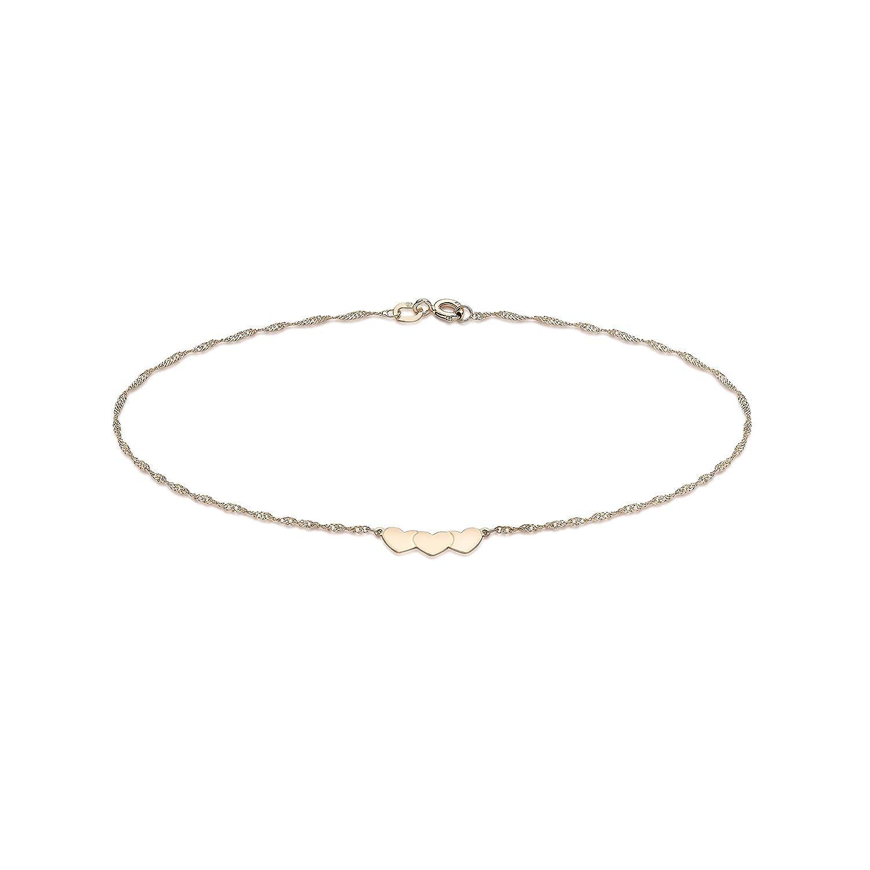 Carissima Gold - Cheville Femme - 9 cts Or 375/1000 1.23.1814 bijoux 9 carat cadeau