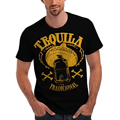 wellcoda tequila tradicional men s new drinking mexican sombrero
