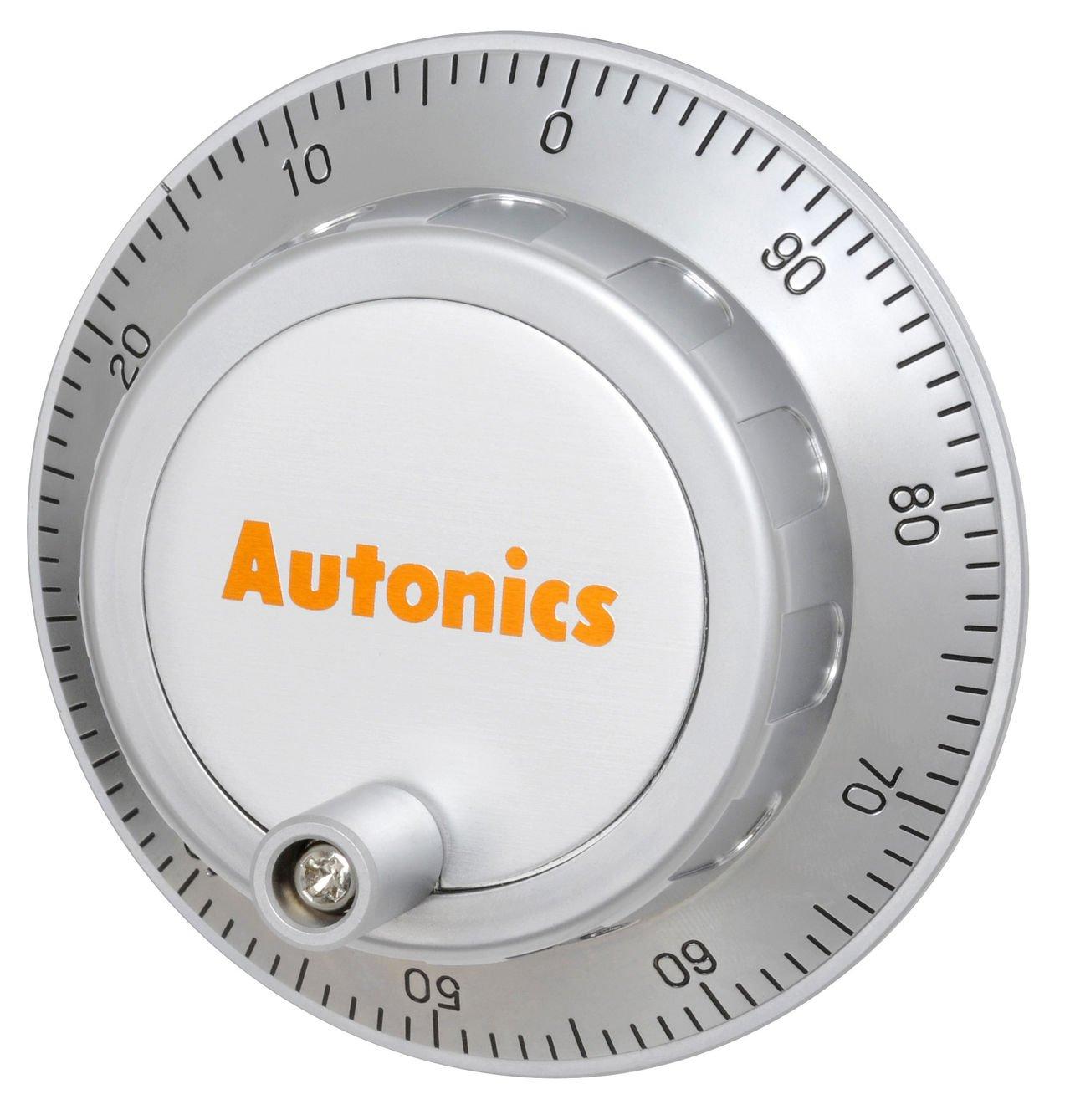 AUTONICS ENH-100-2-T-24 Encoder, Incremental, Hand Wheel, 100 PPR, 'L' Clickstopper, Totem pole output, 12-24 VDC