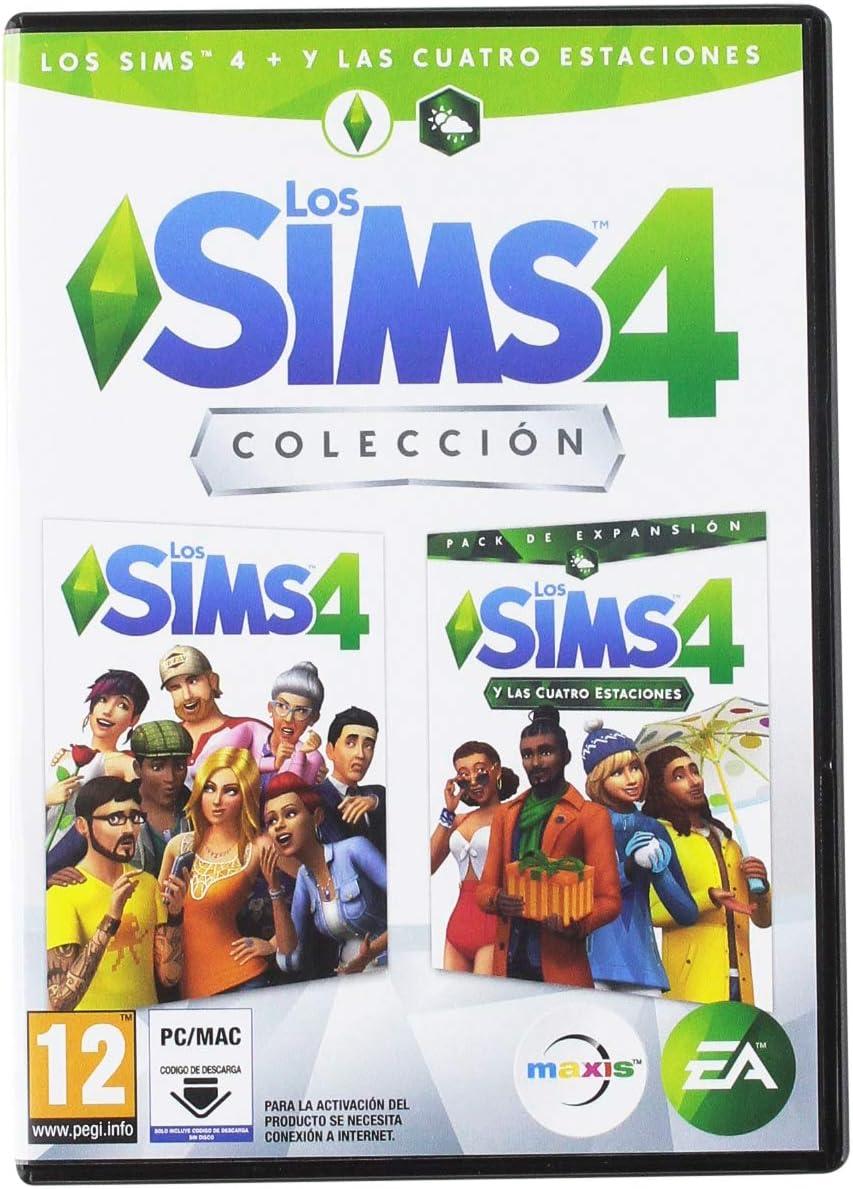Los Sims 4 + Expansión Cuatro Estaciones: Amazon.es: Videojuegos