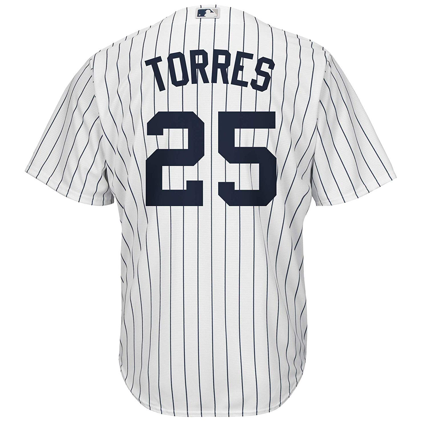 dd20697be Amazon.com: Gleyber Torres York Yankees White Kids Cool Base Home Replica  Jersey: Clothing
