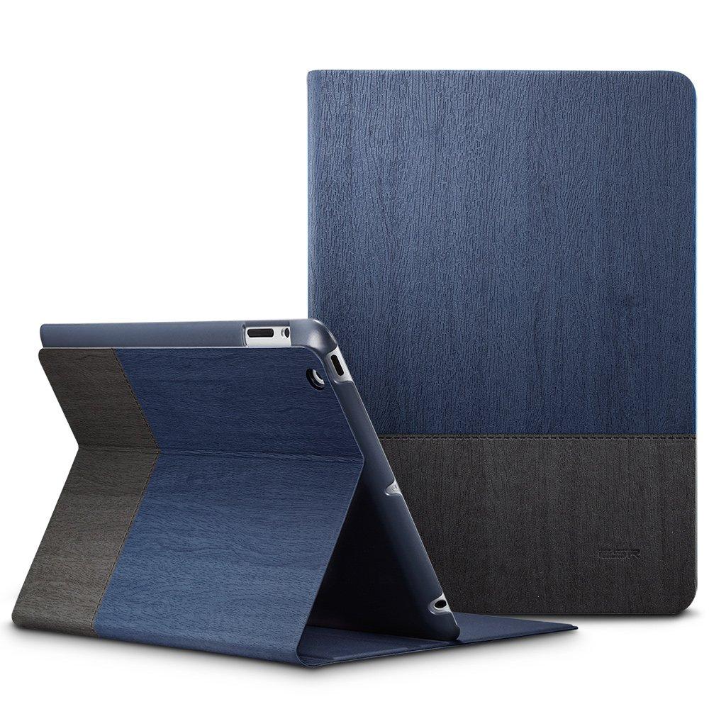 Auto-Desbloquear Dise/ño de Folio Carcasa Prime ESR Funda iPad 2//3//4 de Tela Vaquera para Apple iPad 2// iPad 3// 4/ª Generaci/ón -Azul Soporte de Horizontal de Multi-/Ángulo