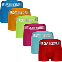 Natural Feelings Mens Boxer Shorts Soft Cotton Men Pack Breathable Mens Underwear Boxer Briefs