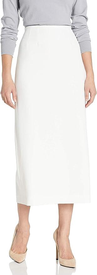 Vintage Skirts | Retro, Pencil, Swing, Boho Kasper Womens Stretch Crepe Column Skirt $34.50 AT vintagedancer.com