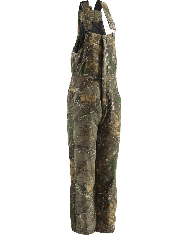 Berne Men's Realtree Camo Coldfront Bib Overalls Camouflage XX-Large