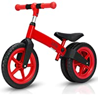 Costway Ultra-Stable Kid Balance Bike No-Pedal Scooter Train Pre Bicycle Adjustable Gift