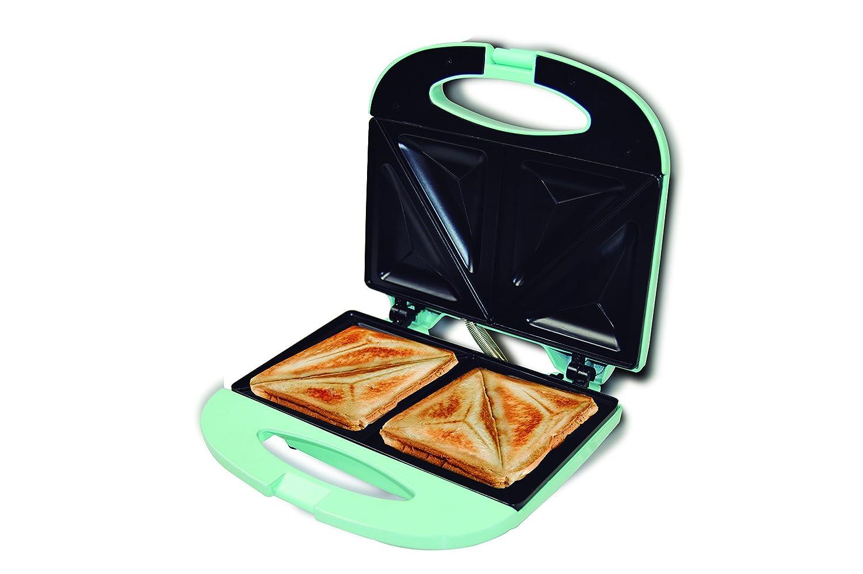 Jocca 5064T Sandwichera de Aluminio, 2 rebanadas y Placas antiadherentes, 750 W: Amazon.es: Hogar