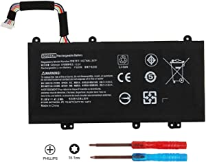 BE·SELL New 11.55V 41.5WH SG03XL SG03061XL Battery for HP Envy M7-U M7-U109DX M7-U009DX 17-U011NR 17t-U000 Series 849315-850 849049-421 849314-856 HSTNN-LB7F HSTNN-LB7E W2K88UA TPN-I126