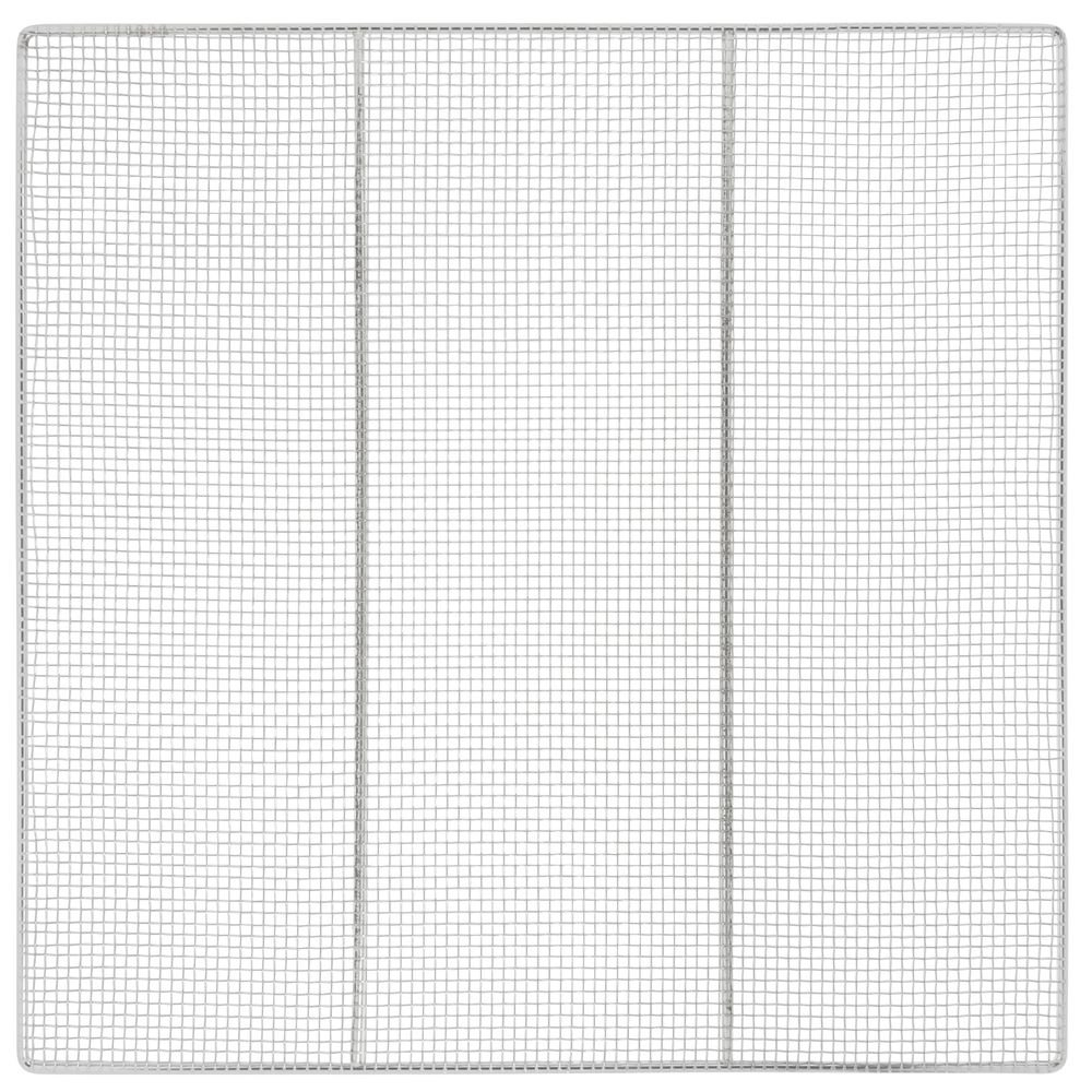 Fry Screen Nickel Plated Steel Wire - 23'' L x 23'' W
