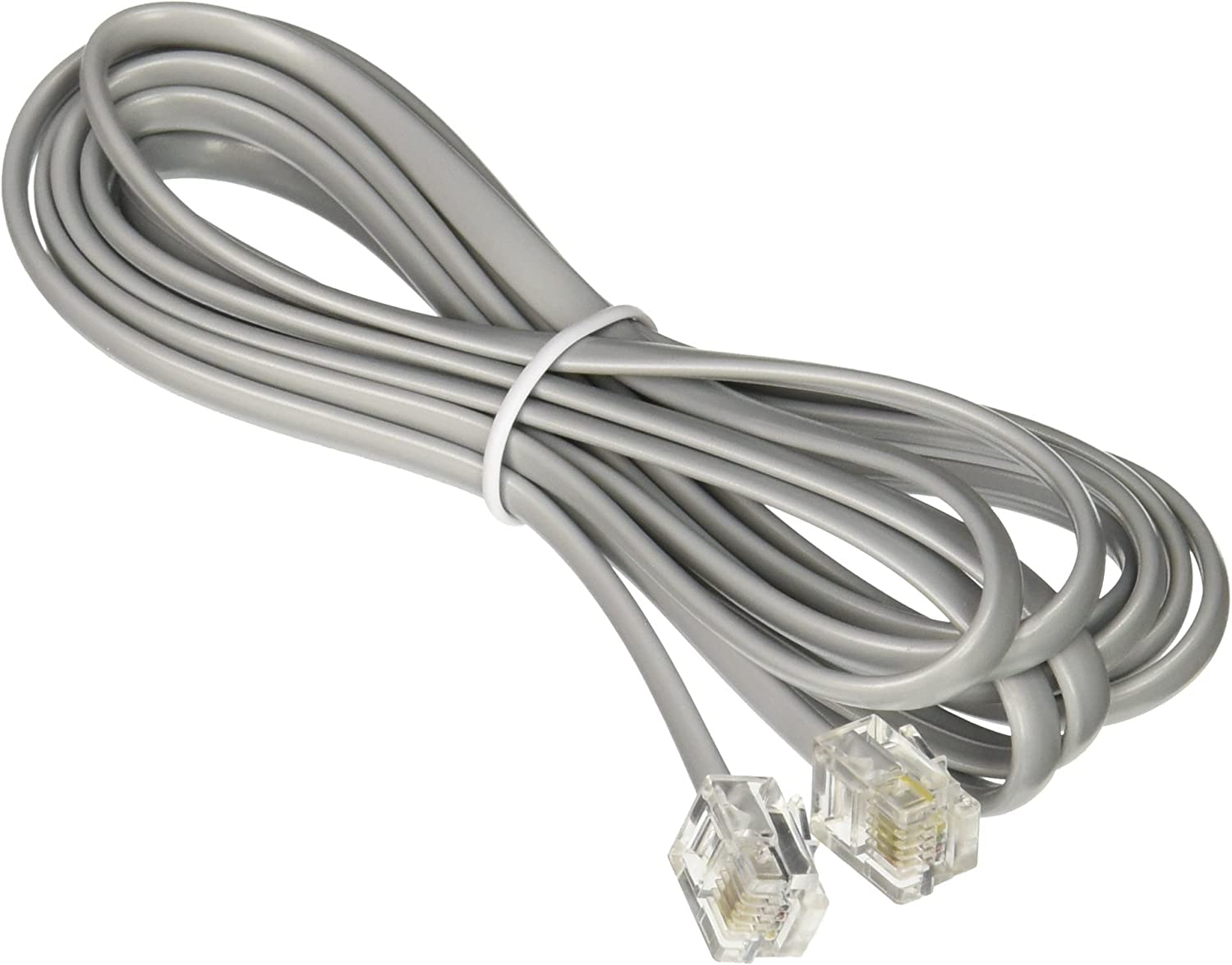 Networx RJ11 6 Conductor 7 Straight Wired Modular Telephone Cable