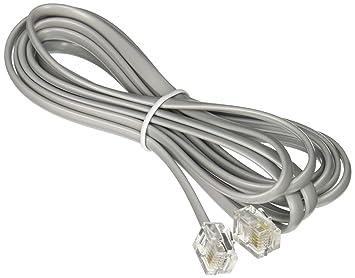 Amazon.com: Networx RJ11 6 Conductor Straight Wired Modular ...