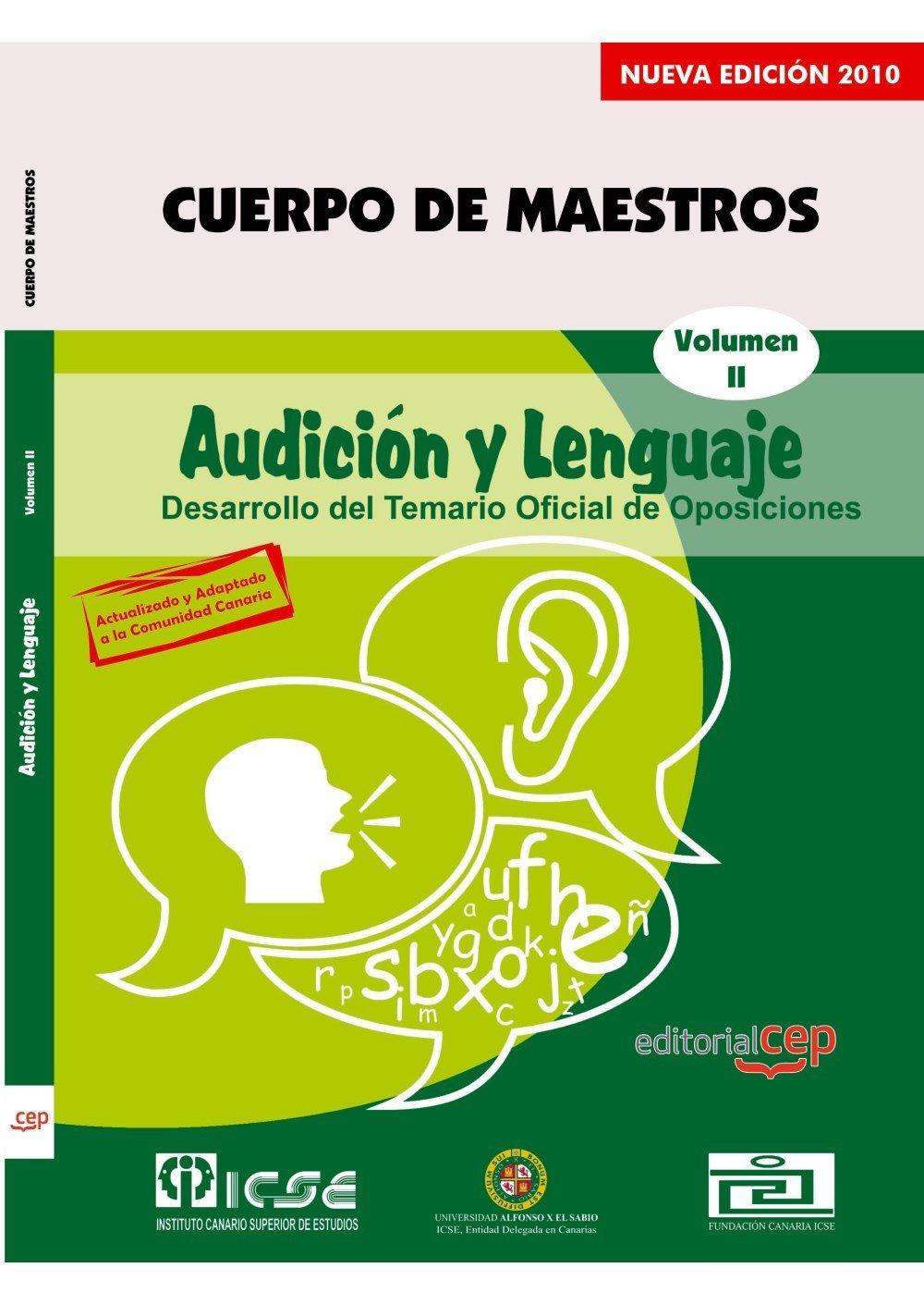 Download Cuerpo de Maestros en Audición y Lenguaje. Vol. II: Temario pdf