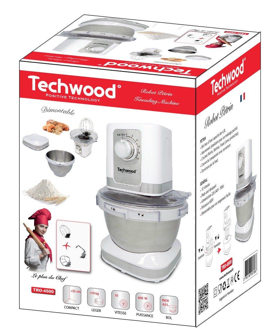 Techwood-Panificadora TRO 4500-Robot de cocina