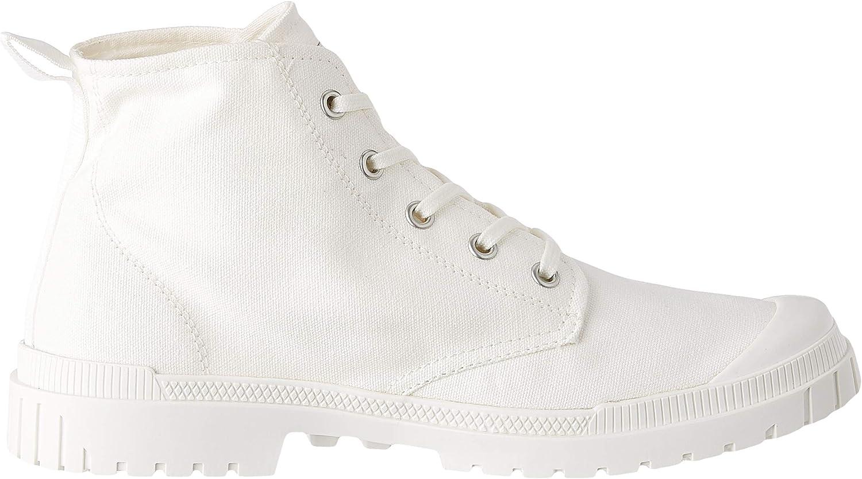 Palladium Men's Pampa Slim Hi Ankle Boot Star White