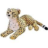 Wild Republic Jumbo Cheetah Plush, Giant Stuffed Animal, Plush Toy, Gifts for Kids, 30 Inches