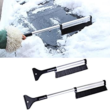 Blue Superio 414 Car Snow Brush with Ice Scraper One Size