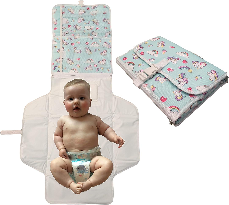 Changing Mat Bambino Mio Folding Baby Home Travel Machine Washable 8 Designs