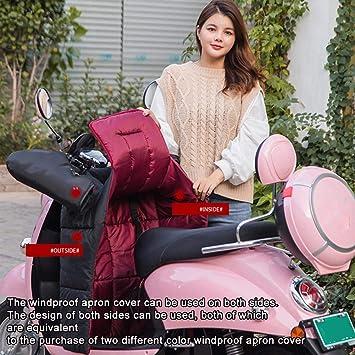 Ardentity Motorrad Beinschutz Roller Winter Nässeschutz Wetterschutz Doppelseitig Wasserdicht Winddicht Beinschutzdecke Beinabdeckung Universal Für Rollerfahrer Motorfahrer Warm Halten Baumarkt
