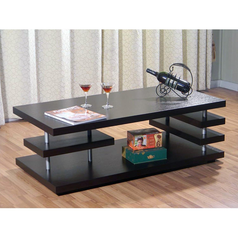 Amazon Furniture of America Aven Cappuccino Coffee Table