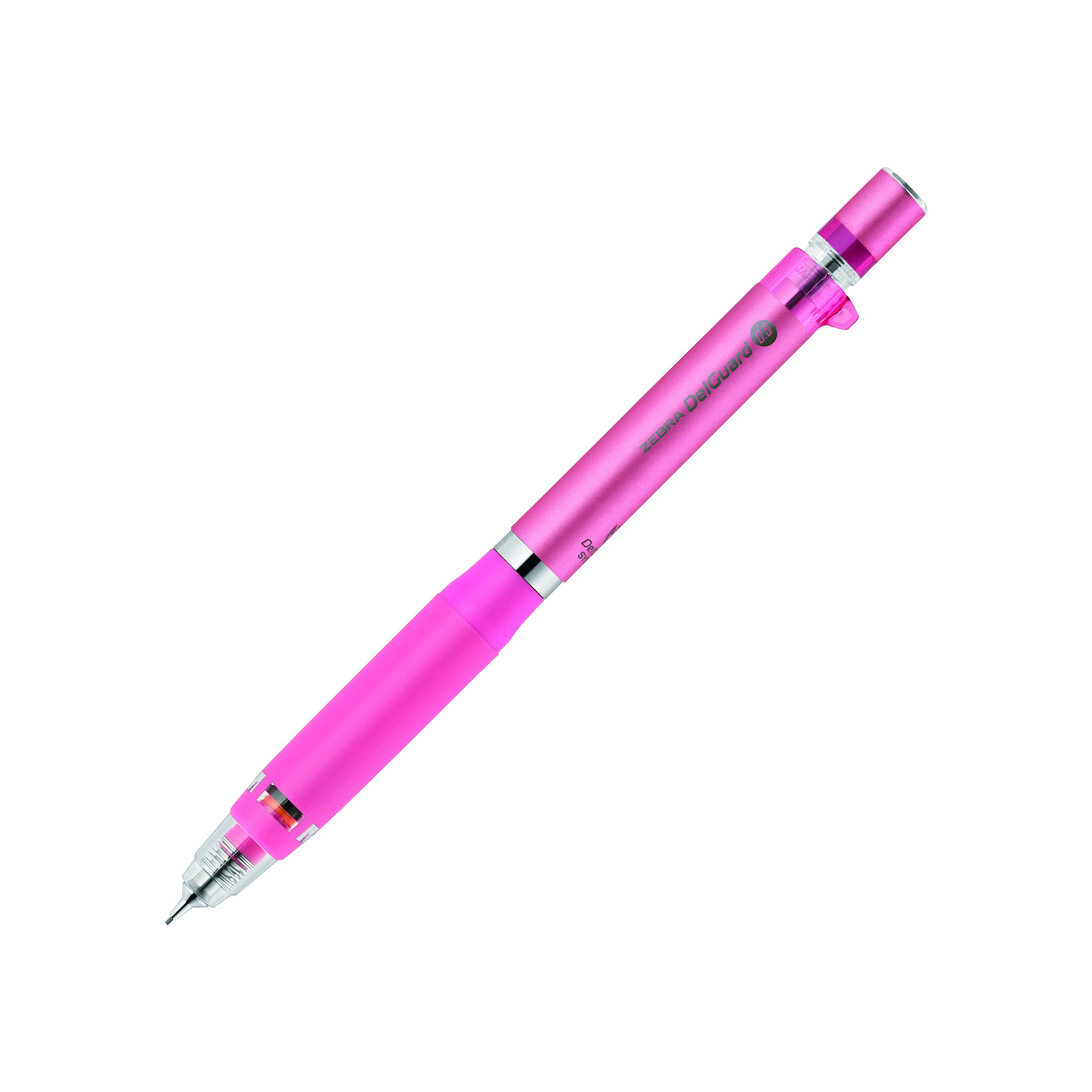Zebra - Portaminas tipo ER, 0,5 mm, color rosa (PMA88-P)