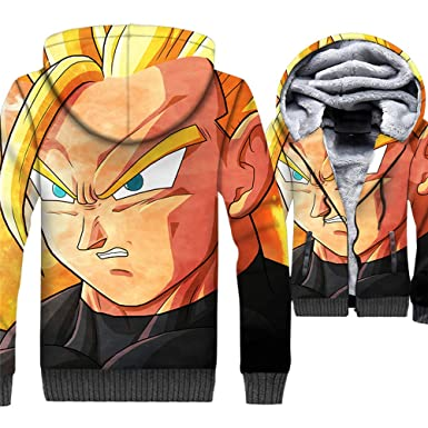 CLOAAE Dragon Ball Sudadera con Capucha Hombre Anime Super ...