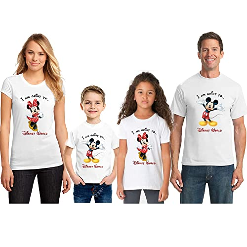 42f00bfee35 Amazon.com  I m Going To Disney World Matching Tshirts For All ...