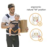 360 Ergonomic Baby Carrier with Hip Seat - AIEBAO