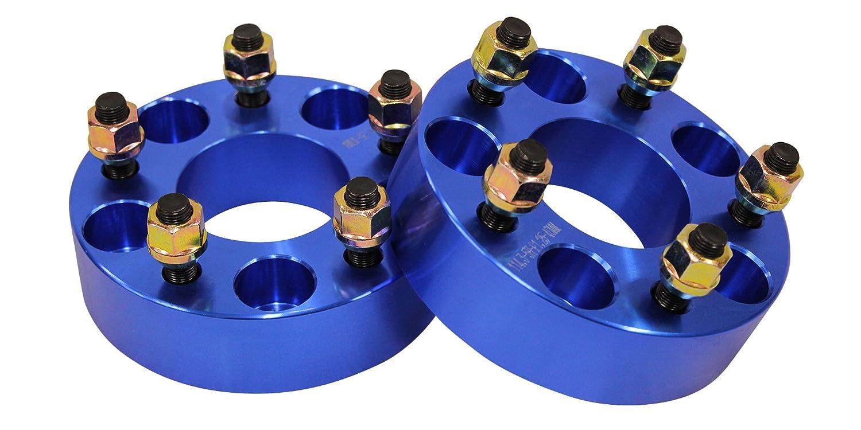 ワイドトレッドスペーサー ブルー 2枚セット PCD114.3 5H M12×P1.5 厚さ40mm SPB0240 B00IY5GWBY