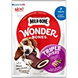 Milk-Bone Wonder Bones Long Lasting Dog Treats, Made with Real Meat, Easy to Digest