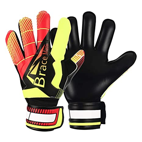 Amazon.com   Goalie Goalkeeper Gloves for Youth and Adult 70df19a9a4