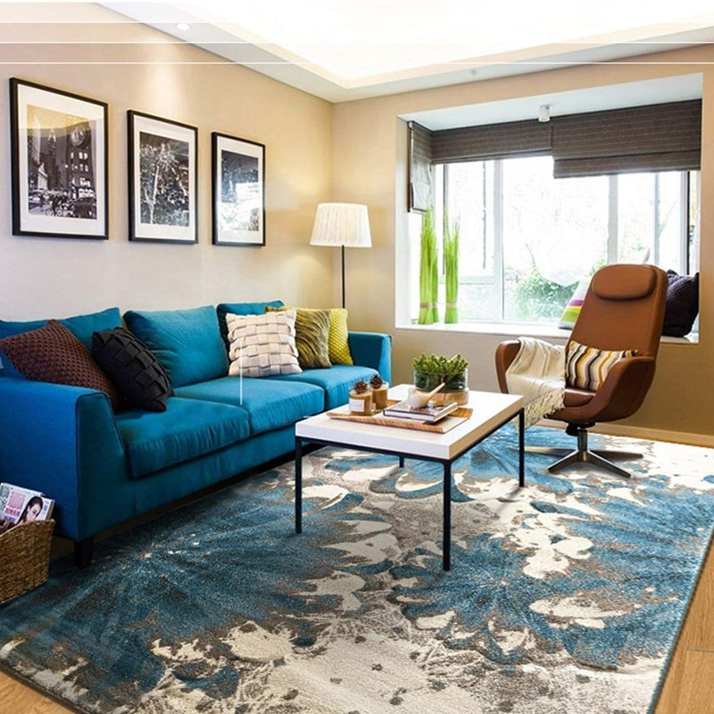 LUYIASI- Sofa doux superbe de tapis d'art américain à côté de l'utilisation de tapis de plancher pour la moquette de pièce d'enfant de lit de séjour à la maison d'hôtel , Épaisseur: 13mm Non-slip