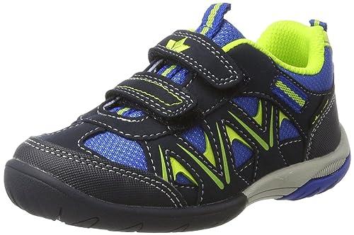 Lico Sport Vs - Scape per Indoor Unisex Bambini, Blu (Blau/Marine/Lemon Blau/Marine/Lemon), 28 EU