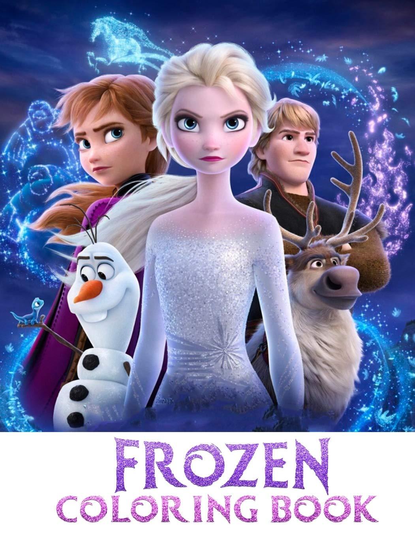 Frozen Coloring Book Elsa Coloring Book Art Press Creative 9781675540879 Amazon Com Books
