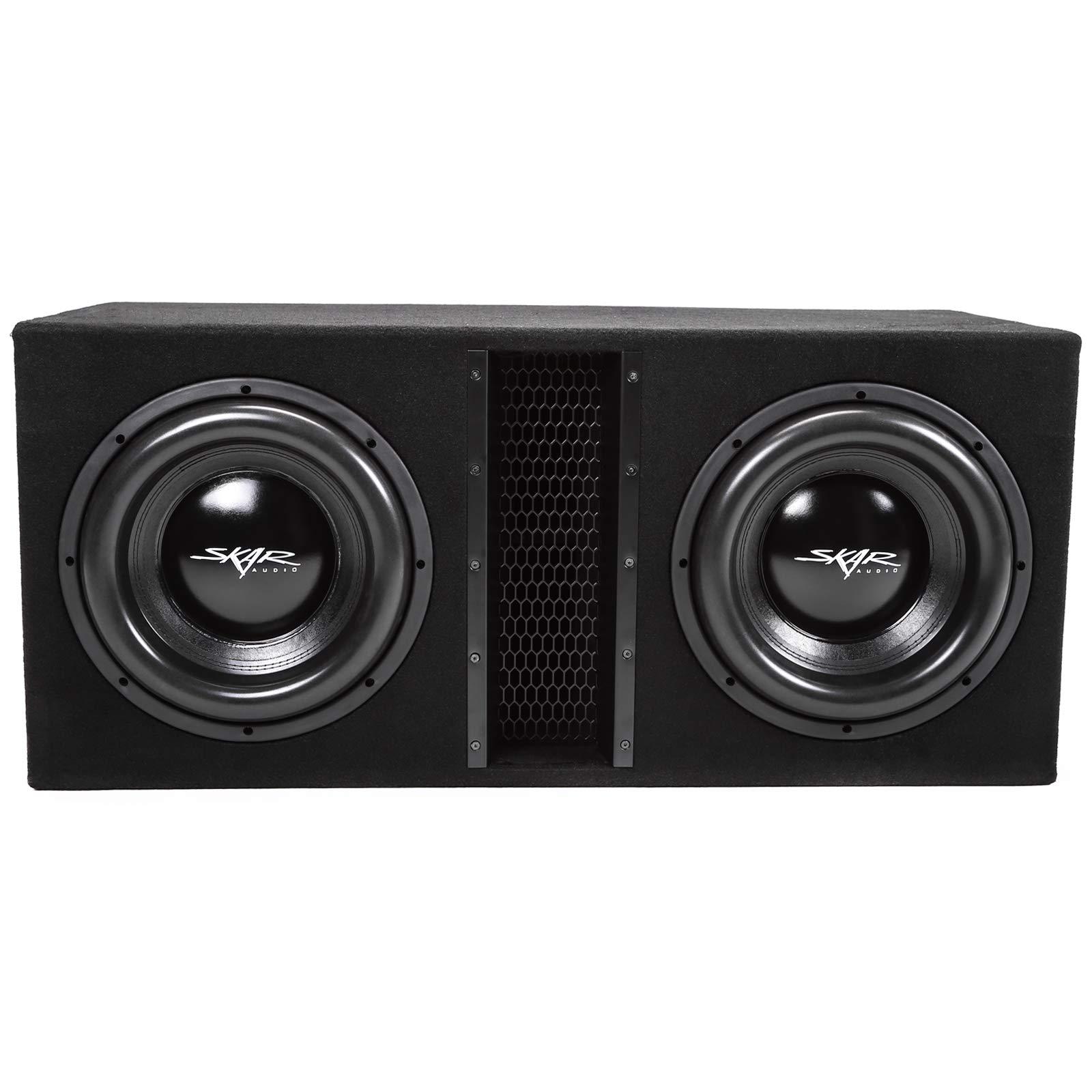 Skar Audio Dual 12'' 5000W Loaded EVL Series Vented Subwoofer Enclosure | EVL-2X12D4 by Skar Audio (Image #2)