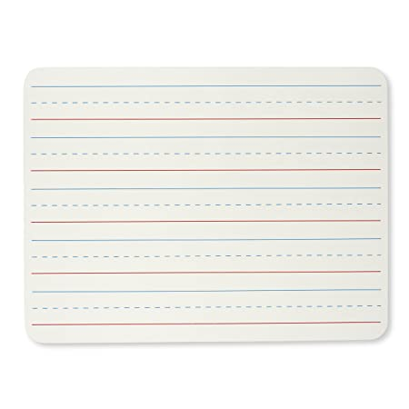Review Charles Leonard Set of 12 Dry Erase Lapboards, 9 x 12 Inches, Masonite, Two Sided, Lined/Plain White, 12 Each (35120)