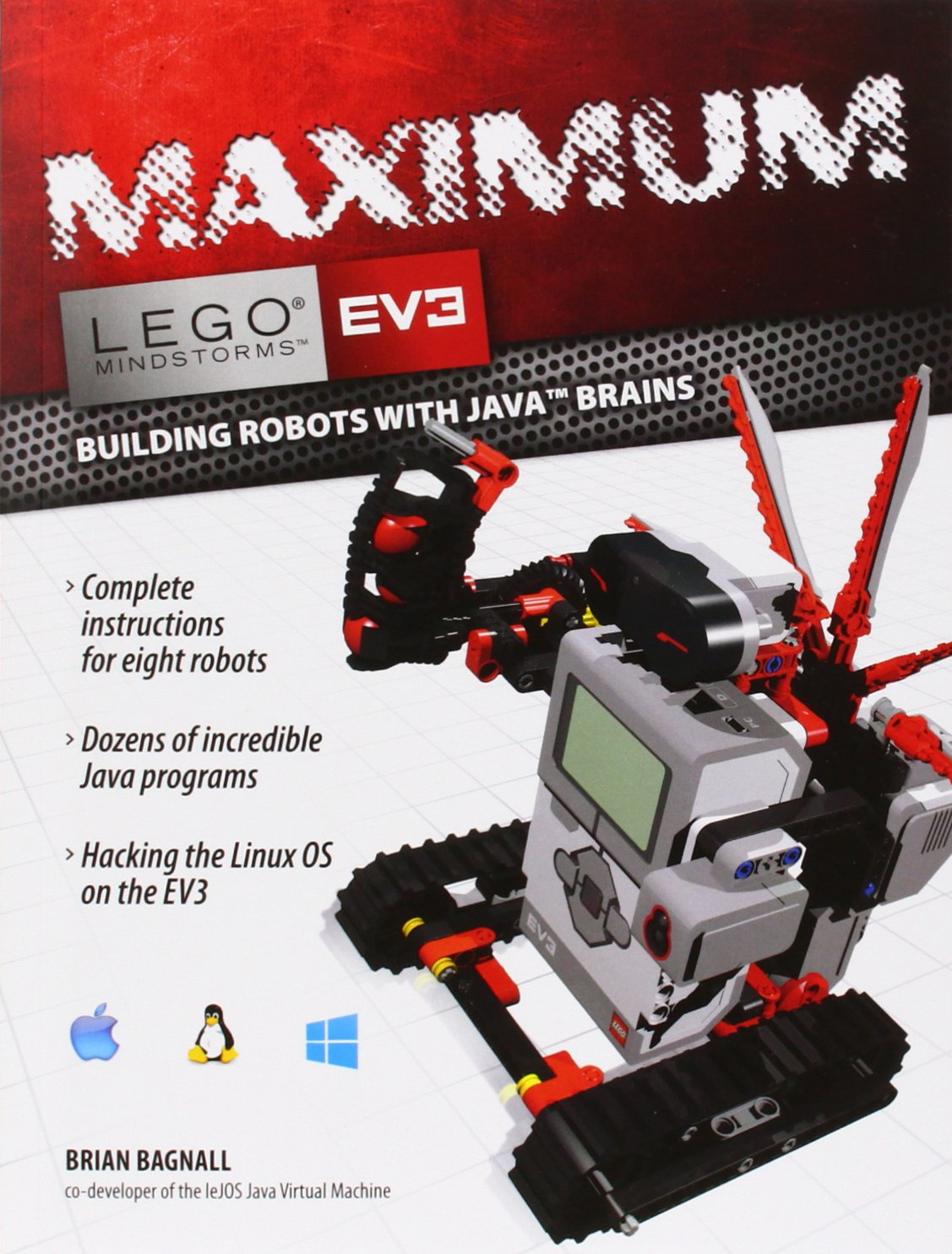 Maximum Lego Ev3 Building Robots With Java Brains Lego Mindstorms