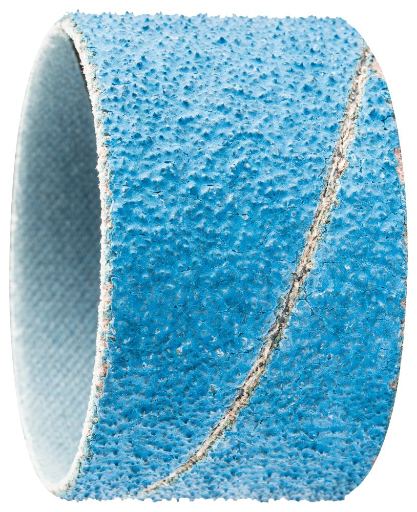 PFERD 41420 Cylindrical Type Abrasive Spiral Band, Zirconia Alumina Z-Cool, 1-3/4'' Diameter x 1-1/8'' Length, 50 Grit (Pack of 100)
