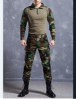 QMFIVE Uniformes tácticos Camuflaje Camo Camo Combat BDU Chaqueta ...