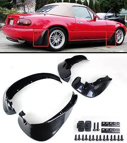 Cuztom Tuning For 1990 1997 Mazda Miata NA JDM 4pcs Front U0026 Rear Splash Mud