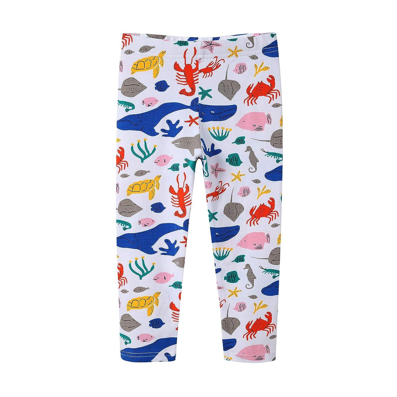 Leggins Ragazza Dinosauro Leggings Bambina Sirena Collant Inverno Pantaloni Dizoony